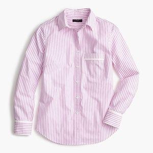 J.Crew Purple Striped Button-up Shirt 4